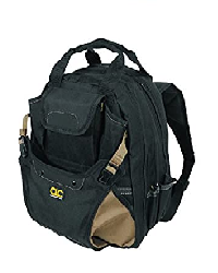 CLC Custom Leathercraft 1134 Carpenter's Tool Backpack